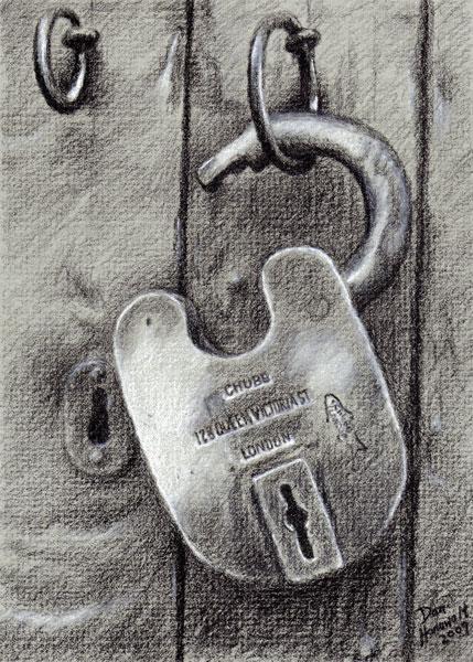 lock-drawing